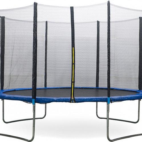 Trampoline Amigo 366 cm avec filet de sécurité