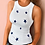 Thumbnail: Women Solid Round Neck Ribbed Tank Top