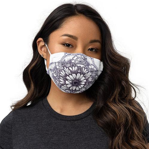 Lavender Mandala Mask