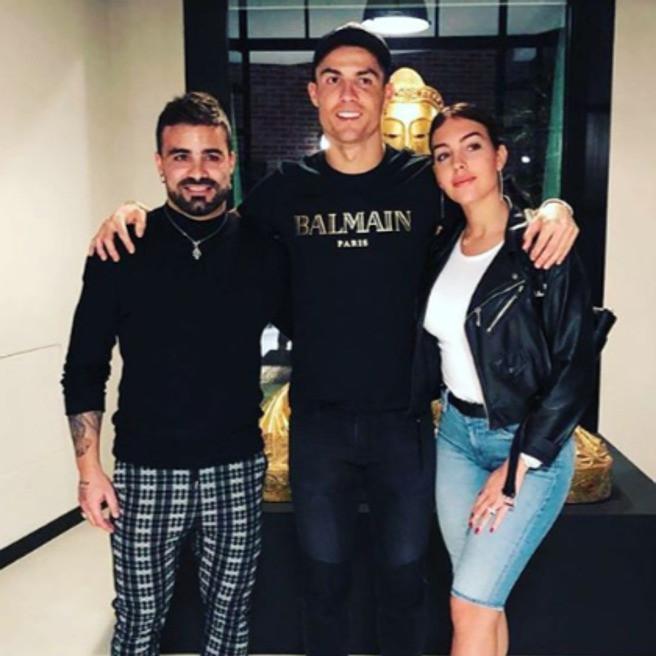 Cristiano Ronaldo y Giorgina invitan a Tutto a Turín