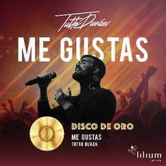 """Segundo Disco de Oro con """"Me Gustas"""""""