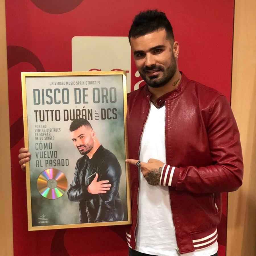 Tutto Durán recibe el Disco de Oro digital