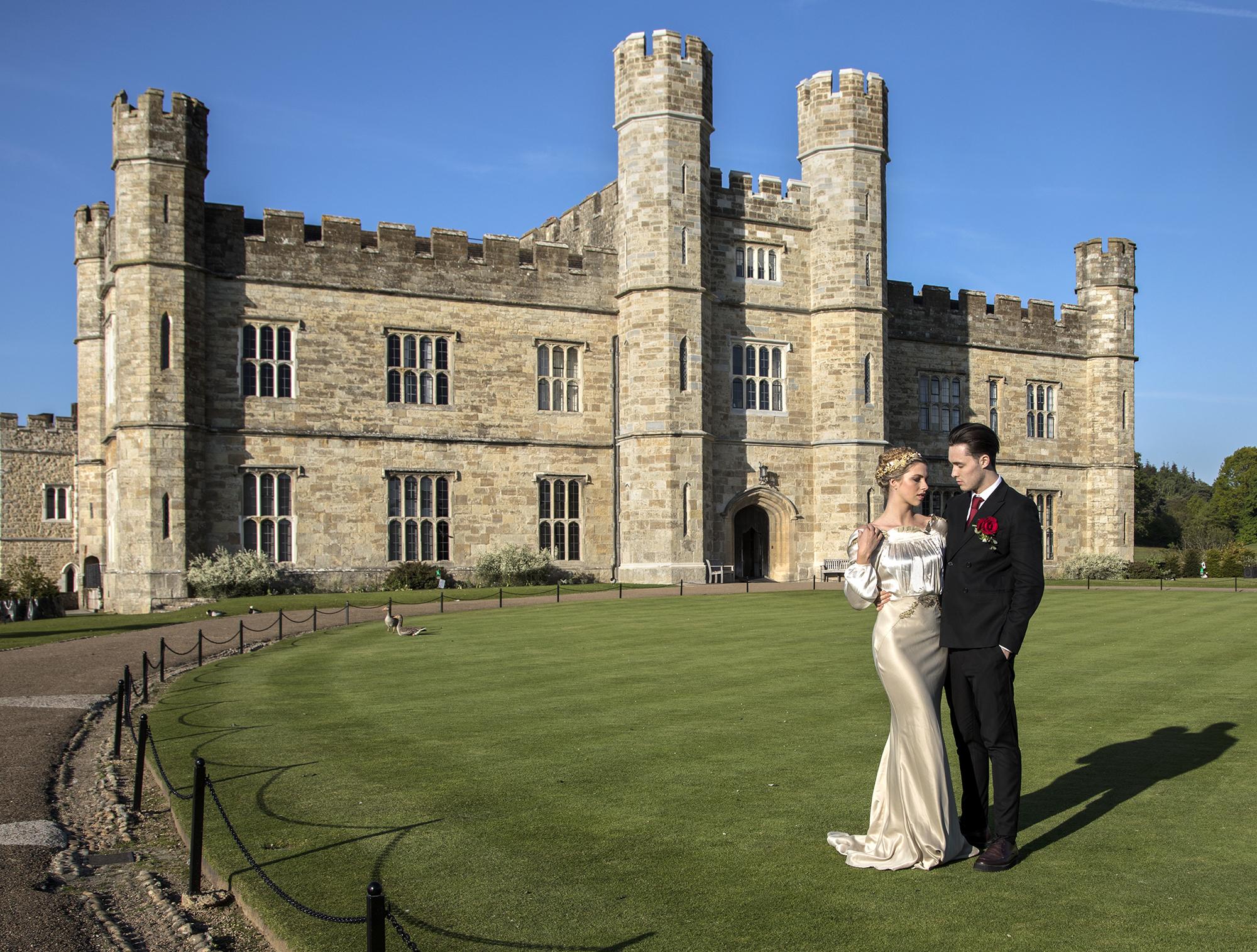 Leeds Castle front lawn