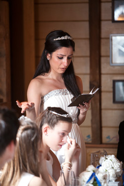 Bridesmaids emotional speech