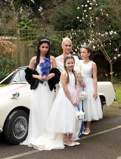 Danielle and bridesmaids
