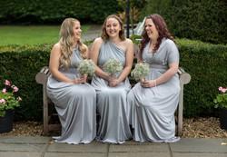 Bridesmaids at Winters Barn