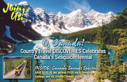 Canadian Sesquicentennial Brochure