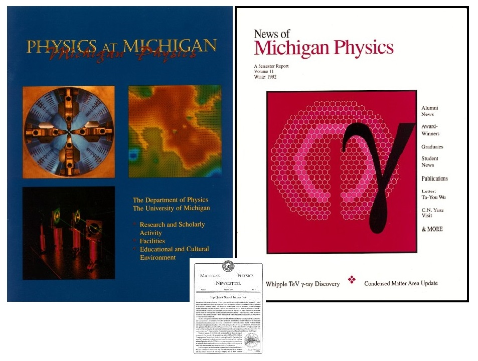 Newsletters: Michigan Physics