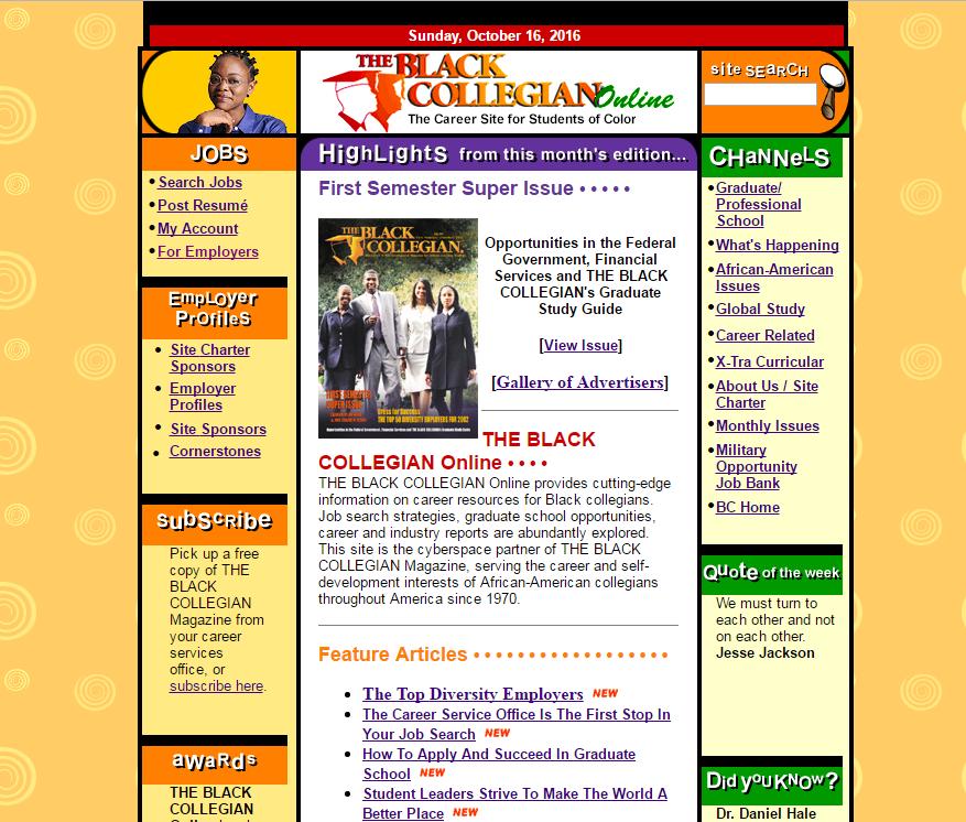 The Black Collegian Online - Original