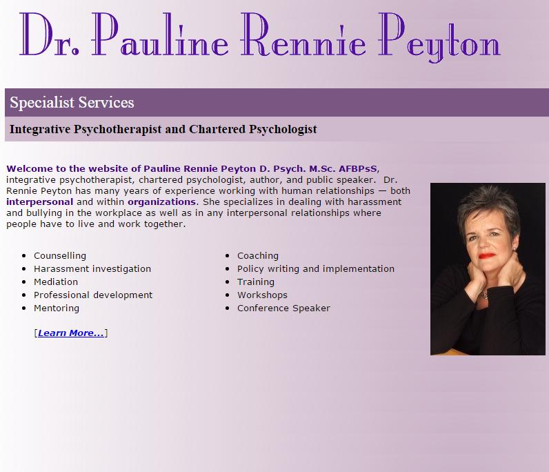 Pauline Rennie-Peyton