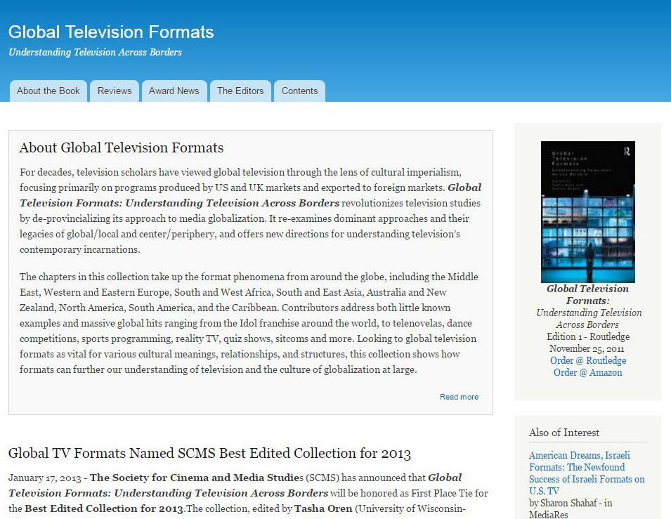 Global Television Formats