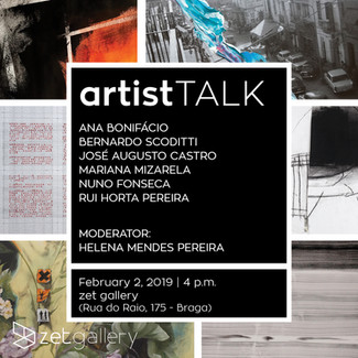 feb '19: Artist Talk about CALL FOR PAPERS