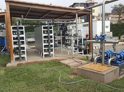 NUFiltration : Prétraitement et désalinisation de l'eau dans le domaine fluvial et effluents