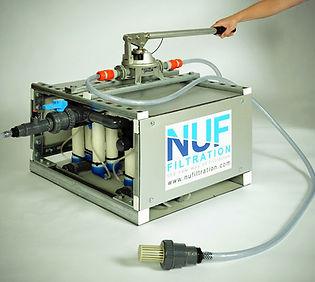 Système NUFiltration Manuel pour la potabilisation de l'eau