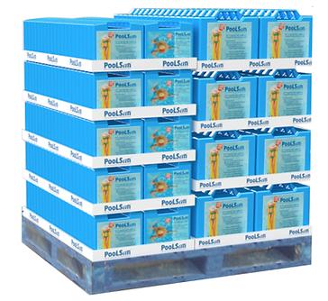 Espace de vente Poolsan® Cash & Carry : Kits de traitement complet pour piscines et spas sans chlore