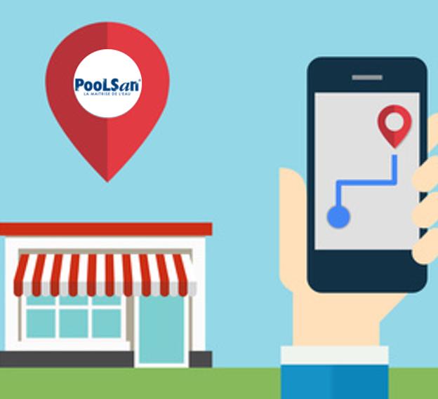 Retrouvez la gamme de produits Poolsan® près de chez vous !