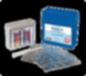 Poolsan® Pooltester Kit d'Analyse 3 en 1, 10 ou 20 tests pH/Oxygène/Cuivre/Alcalinité