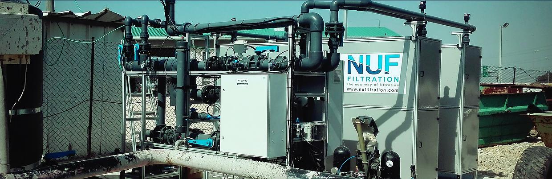 NUFiltration : Prétraitement et désalinisation de l'eau dans l'agriculture : irrigation