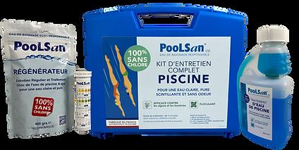 Poolsan Kit Complet pour Piscine de 5 à 20 m3 sans chlore
