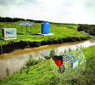 NUFiltration : Système Automatique à énergie solaire pour la potabilisation de l'eau