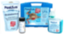 Poolsan® Chlorine free water treatment kit for spas (jacuzzi)