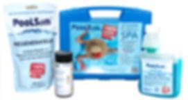 Poolsan® Kit : Chlorine free water treatment for spas