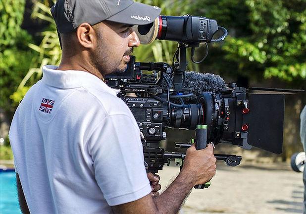Cameraman high end video filming in Sri Lanka