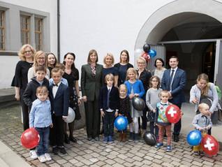 President Kaljulaid külastas Sveitsi