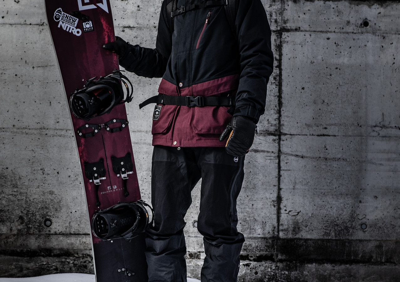 kevin the snowboarder portraits @poltisp