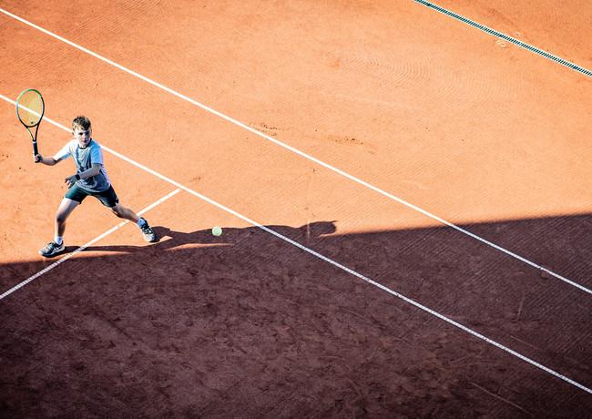 Tennis top shots Camp Chiudinelli @polti