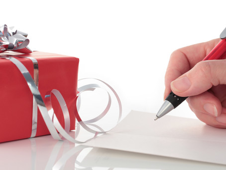 Offrez (vous) un atelier d'écriture pour Noël. Notre cadeau : -15% jusqu'au 15 décembre