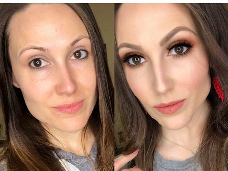 Simple Rustic Glam Makeup