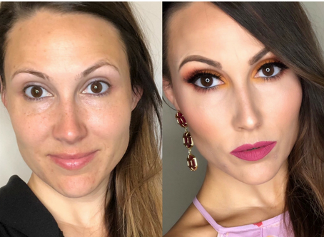 Sunset Makeup Transformation