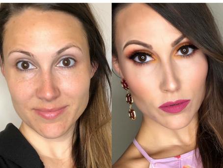 Sunset Makeup Transformation