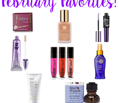 February Favorites!