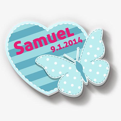 Schmetterling ♂ mit Herz
