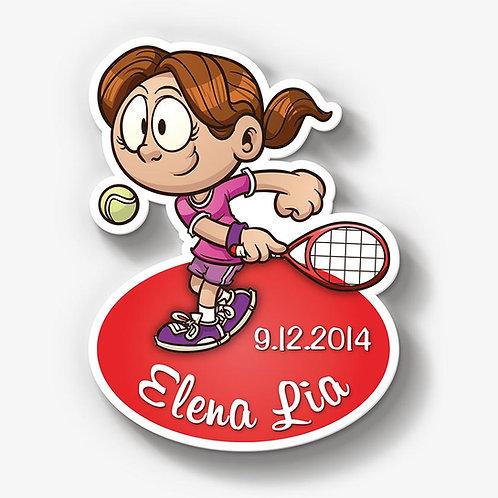Tennismädchen