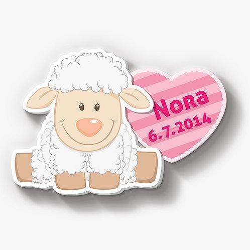 Schaf mit Herz
