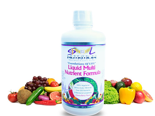 1 Sport Of Life ~ Foundation's Of LIFE, Liquid MultiNutrient Formula