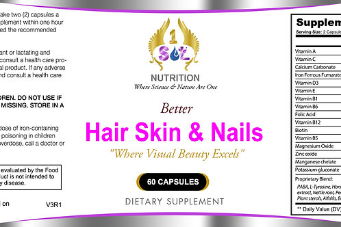 Better Hair, Skin & Nails (Stimulating Beauty From Within)