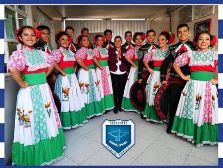 Ballet folclórico participa en Celebración del 15 de Septiembre