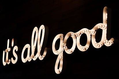 it's all good - Photo by Felicia Buitenw