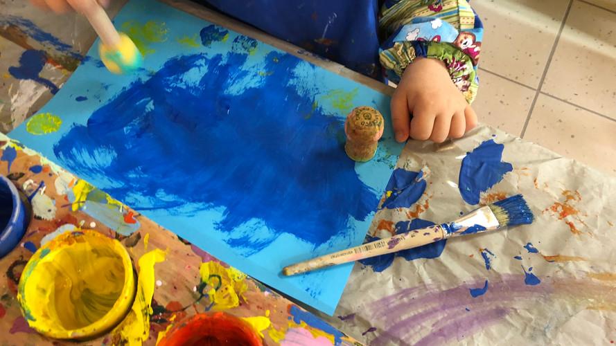 Kunstwerk Wasserfarbe