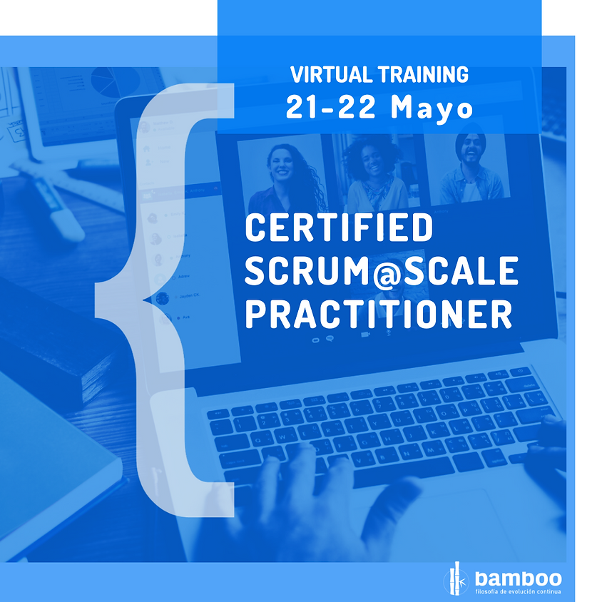 [Virtual Training] Certificación Scrum@Scale Practitioner