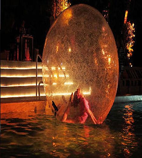 bubble sphere entertainment