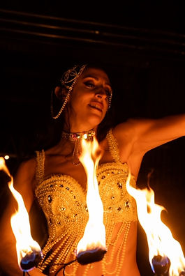 fire dancer for hire