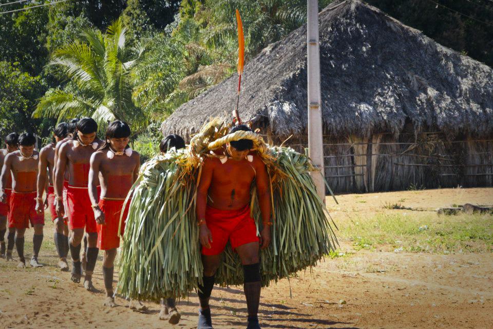 Xavante's ritual