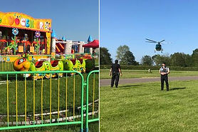 Boy, 3, airlifted to hospital after bein