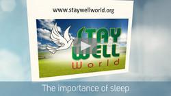 VIDEO: IMPORTANCE OF SLEEP
