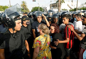 Tunisia imposes night curfew for a month.jpg